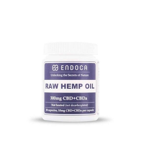 Endoca CBD Capsules 10 Mg (Raw) – 300 Mg