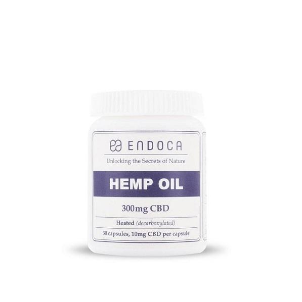 Endoca CBD Capsule (Pure) 10 Mg - 300 Mg