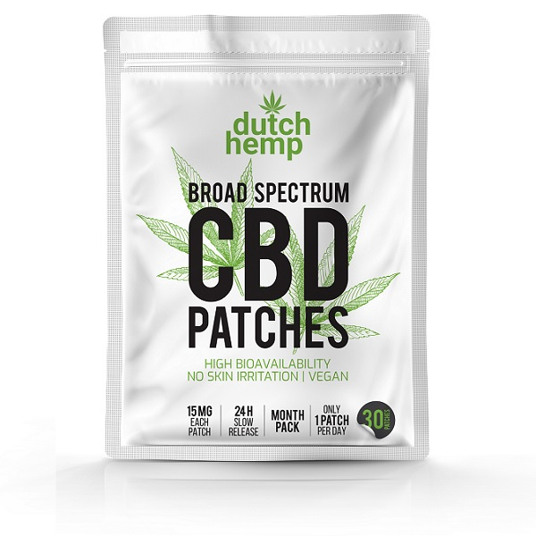 Dutch Hemp CBD Pleisters 15 Mg – 30 Stuks – 450 Mg