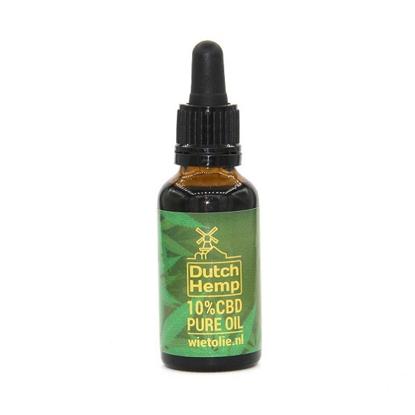 Dutchhemp CBD Olie PUUR – 30 Ml – 10% – 3000 Mg