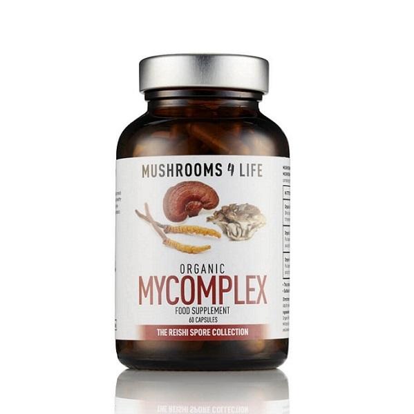 Mushrooms4Life - MyComplex Organic Mushroom - 60 Capsule