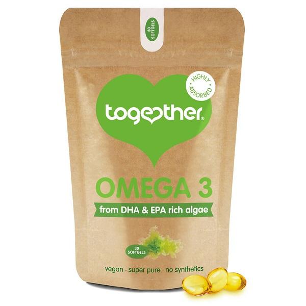 Together – Algae Omega 3 – 60 Capsules