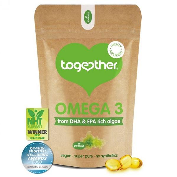 Together – Algae Omega 3 – 30 Capsules