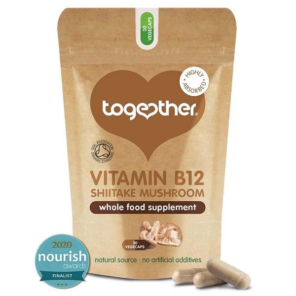 Together – Organic Mushroom B12 – 30 Capsules