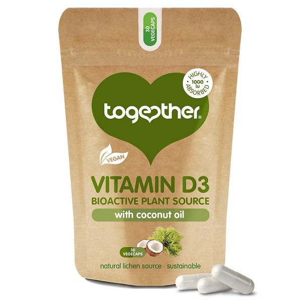 Together – Vegan Vitamin D3 – 30 Capsules