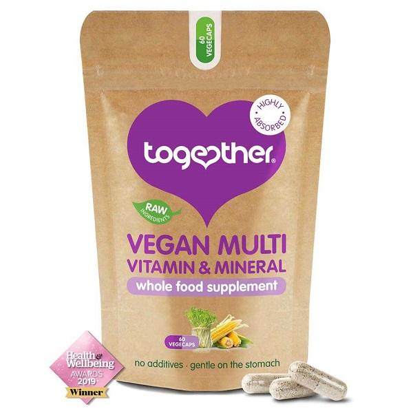Together – Vegan Multivitamines – 60 Capsules