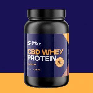 CBD Whey Protein Vanilla