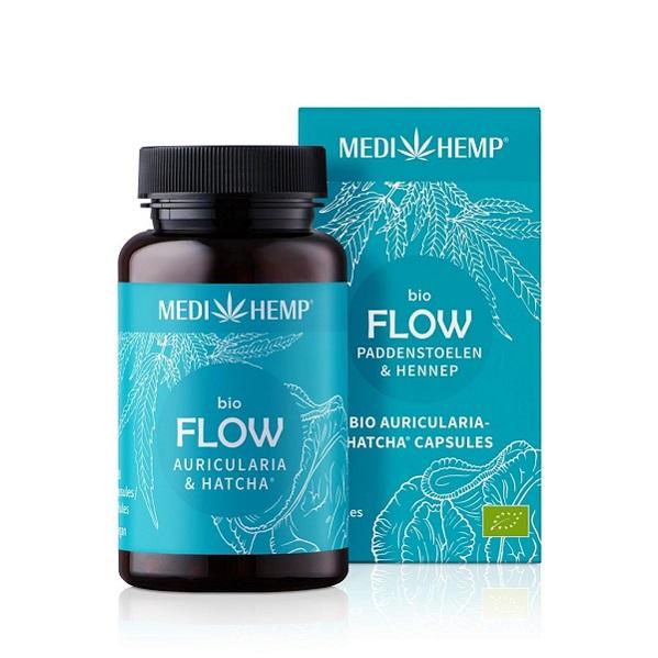 Medihemp (Flow) Auricularia Paddenstoelen Bio – 120 Capsules