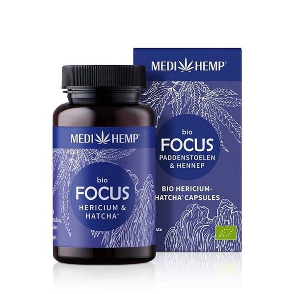 Medihemp (Focus) Hericium Paddenstoelen Bio – 120 Capsules