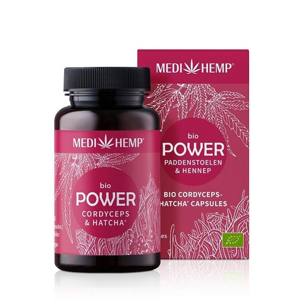 Medihemp (Power) Cordyceps Paddenstoelen Bio – 120 Capsules